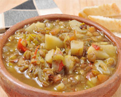 Las mejores y m s populares recetas de lentejas for Cocinar lentejas con verduras